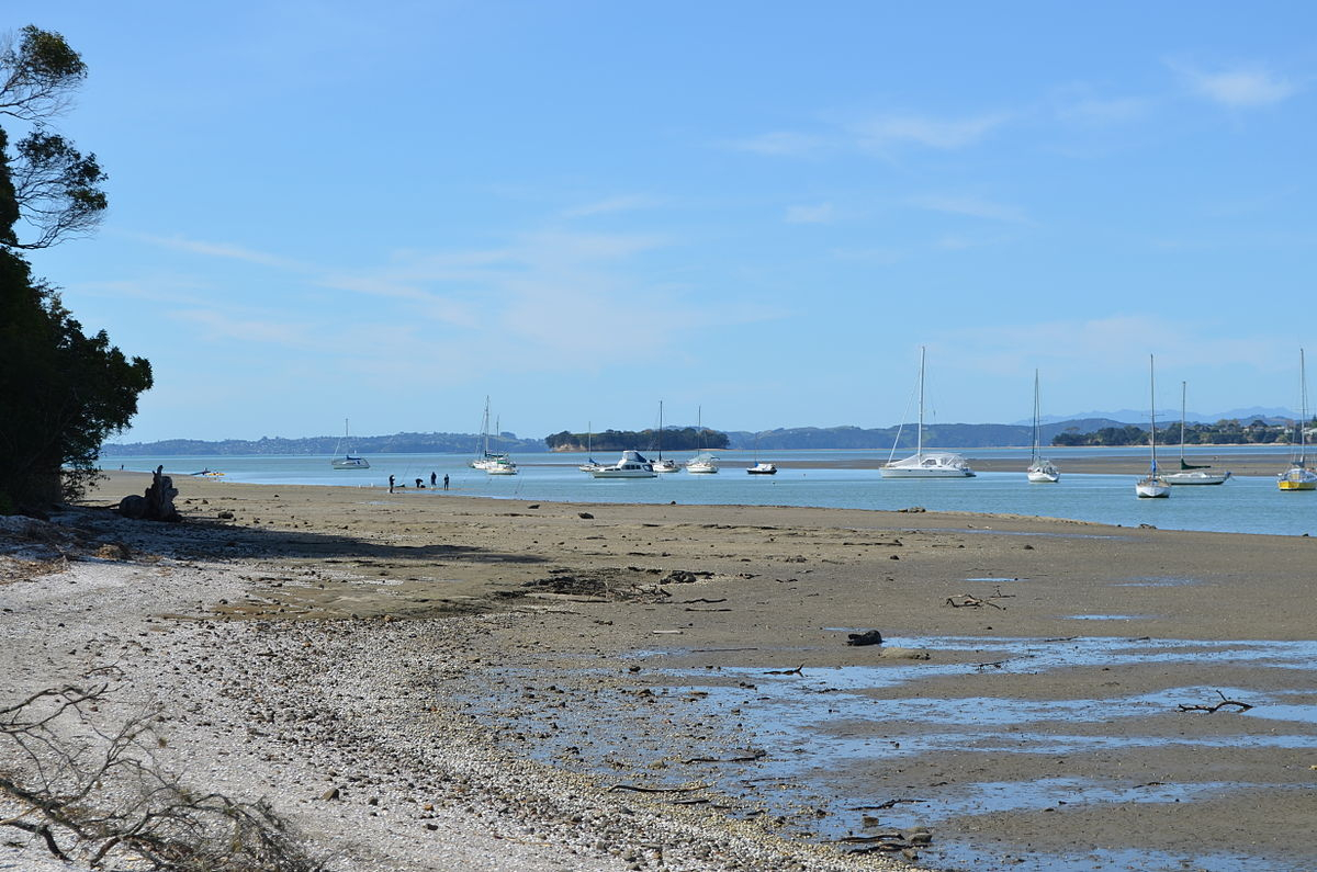 SPCC at low tide – still plenty of water